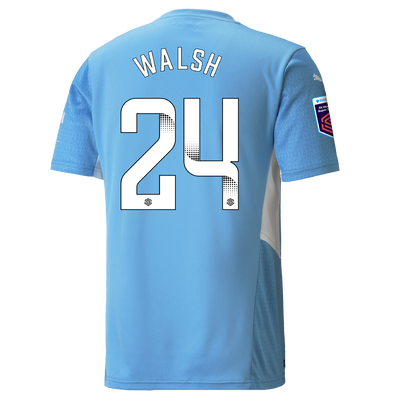 Manchester City Home Shirt 21/22 with Keira Walsh printing