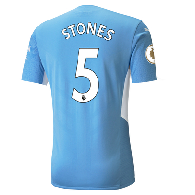 Manchester City Home Authentic Shirt 21/22 with John Stones printing