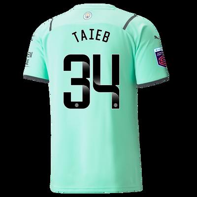 Manchester City Goalkeeper Shirt 21/22 with Karima Benameur Taieb printing