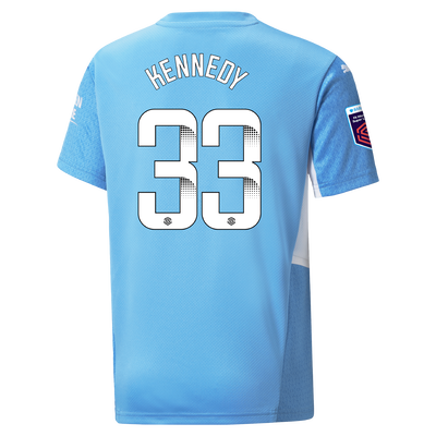 [Pre-order] Kids Manchester City Home Shirt 21/22 with Alanna Kennedy printing