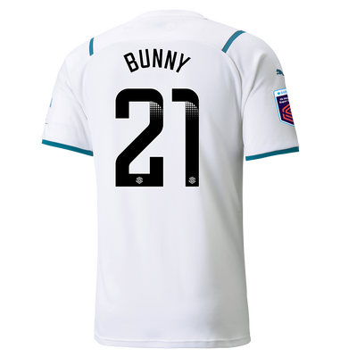 "[Pre-order] Manchester City Away Shirt 21/22 with Khadija ""Bunny"" Shaw printing"