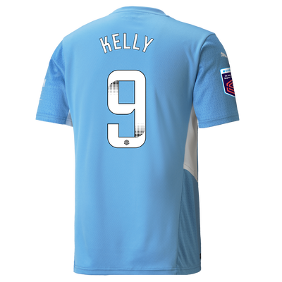 Manchester City Home Shirt 21/22 with Chloe Kelly printing