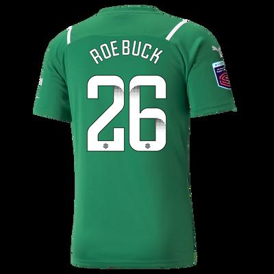 Manchester City Goalkeeper Shirt 21/22 with Ellie Roebuck printing