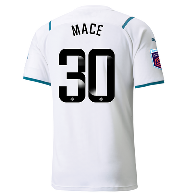 Manchester City Away Shirt 21/22 with Ruby Mace printing