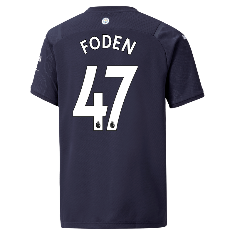 MCFC RP BABY 3RD KIT-FODEN-EPL-PLC-TRUE -