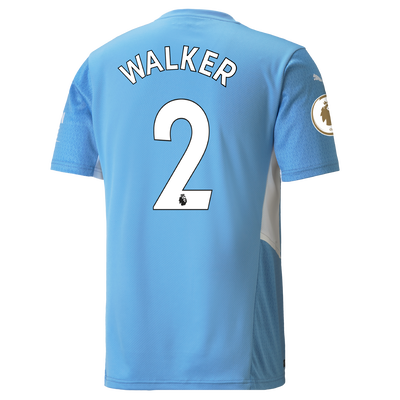 Manchester City Home Shirt 21/22 with Kyle Walker printing
