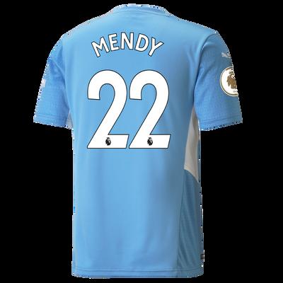 Manchester City Home Shirt 21/22 with Benjamin Mendy printing