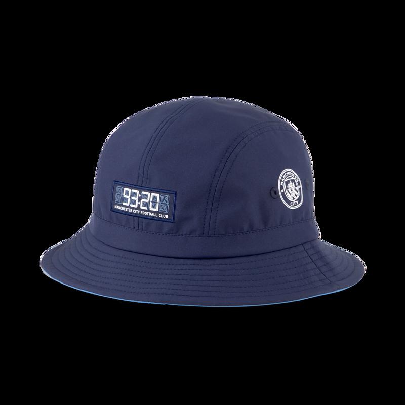 MCFC LW BUCKET HAT - navy