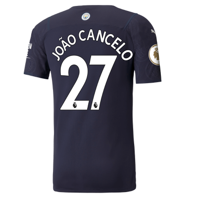 Manchester City Authentic 3rd Shirt 21/22 with João Cancelo printing