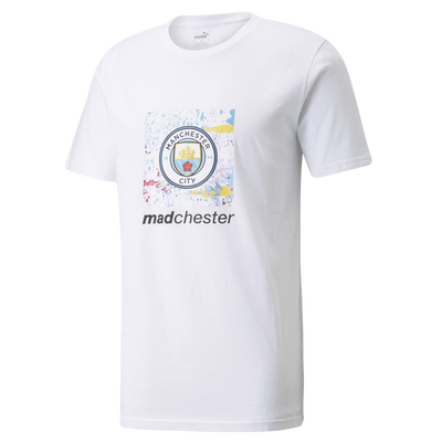 Manchester City x Madchester Graphic Crest Tee