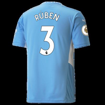 Manchester City Home Shirt 21/22 with Rúben Dias printing