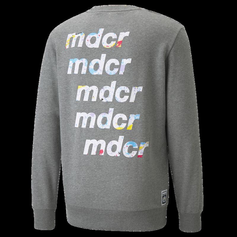 MDCR LW MENS GRAPHIC CREW LS - grey