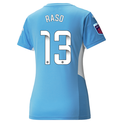 [Pre-order] Womens Manchester City Home Shirt 21/22 with Hayley Raso printing
