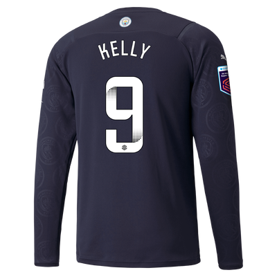 Manchester City 3rd Shirt Long Sleeve 21/22 with Chloe Kelly printing