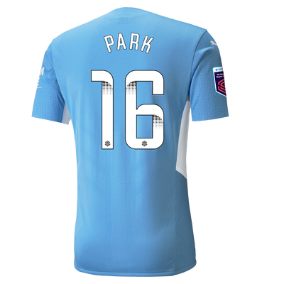 Manchester City Authentic Home Shirt 21/22 with Jess Park printing