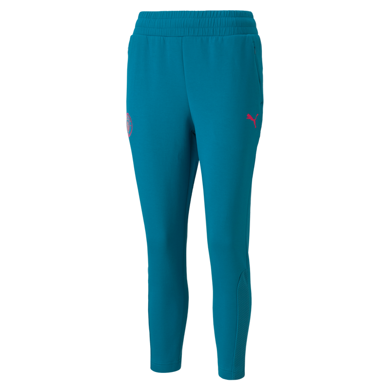 MCFC LW WOMENS CASUALS SWEAT PANTS - turquoise