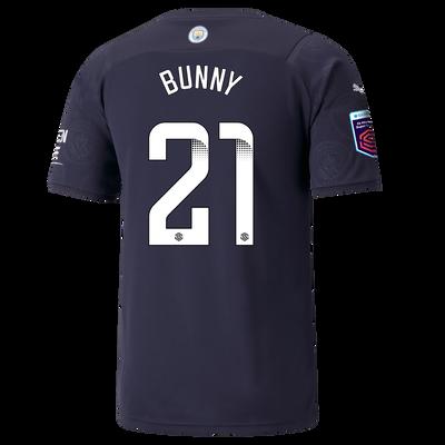"[Pre-order] Manchester City 3rd Shirt 21/22 with Khadija ""Bunny"" Shaw printing"