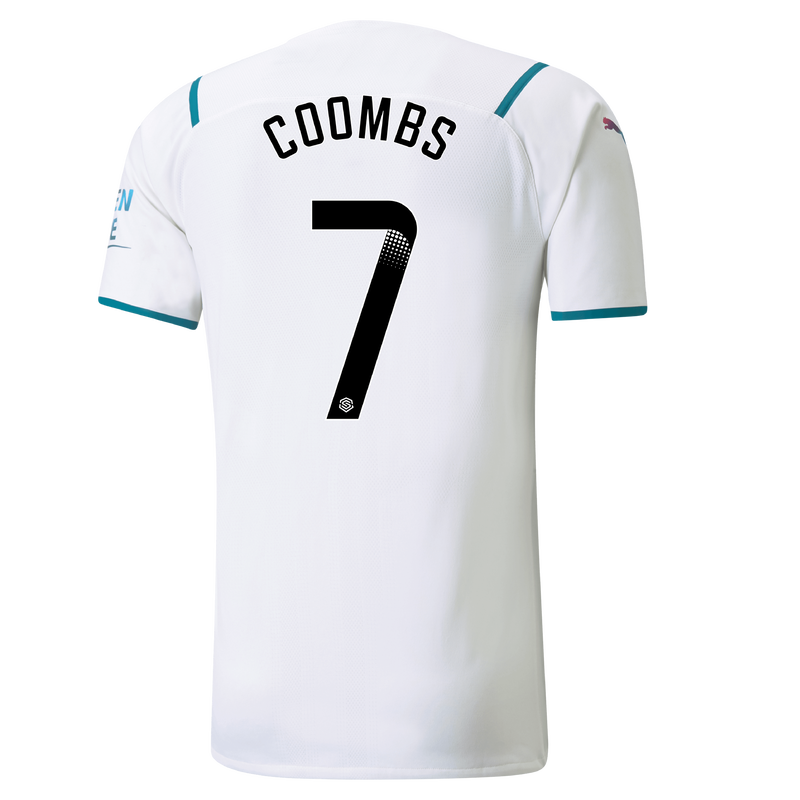 MCFC MW MENS AWAY AUTHENTIC SL SHIRT SS-COOMBS-WSL-WSL-TRUE -