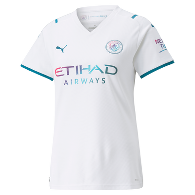 Womens Manchester City Away Shirt 21/22