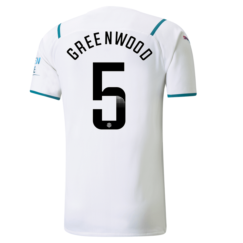MCFC MW MENS AWAY AUTHENTIC SL SHIRT SS-GREENWOOD-WSL-WSL-TRUE -