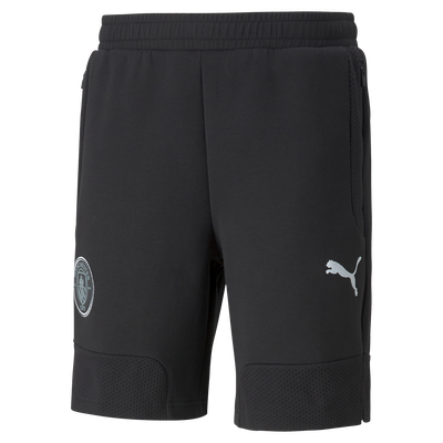 Manchester City Casuals Sweat Football Shorts