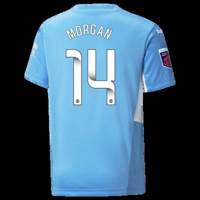 Kids Manchester City Home Shirt 21/22 with Esme Morgan printing