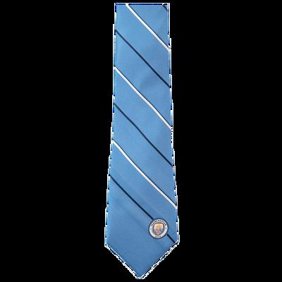 Manchester City Striped Tie