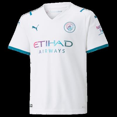 Kids Manchester City Away Shirt 21/22