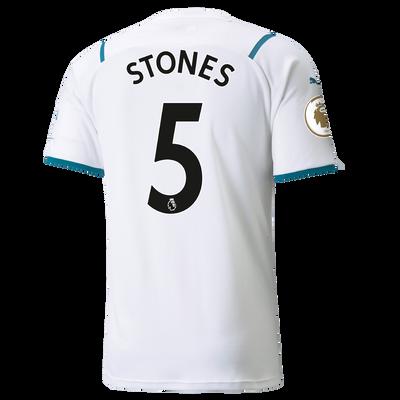 Manchester City Away Shirt 21/22 with John Stones printing