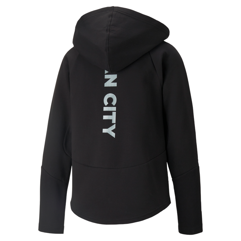 MCFC LW WOMENS CASUALS HOODED JACKET - black