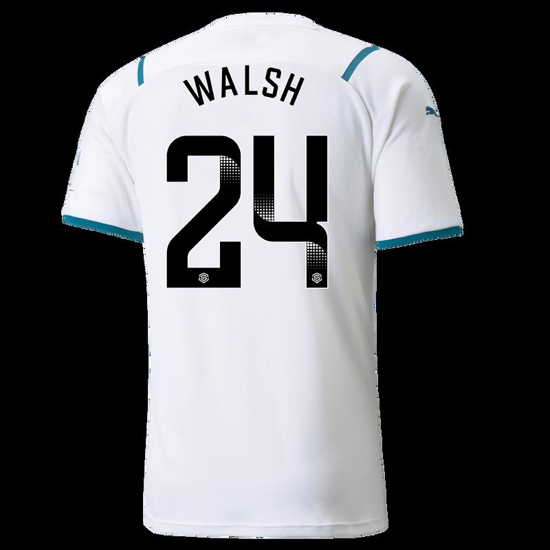 MCFC MW MENS AWAY SL SHIRT SS-WALSH-WSL-WSL-TRUE -