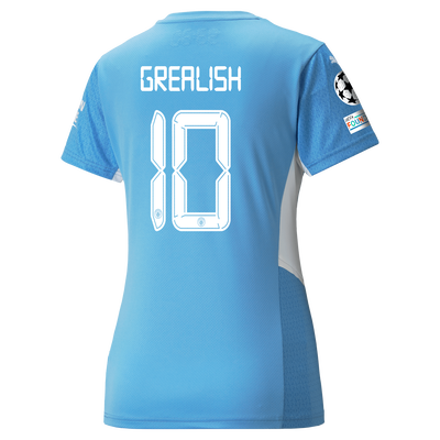 Womens Manchester City Home Shirt 21/22 with Jack Grealish printing
