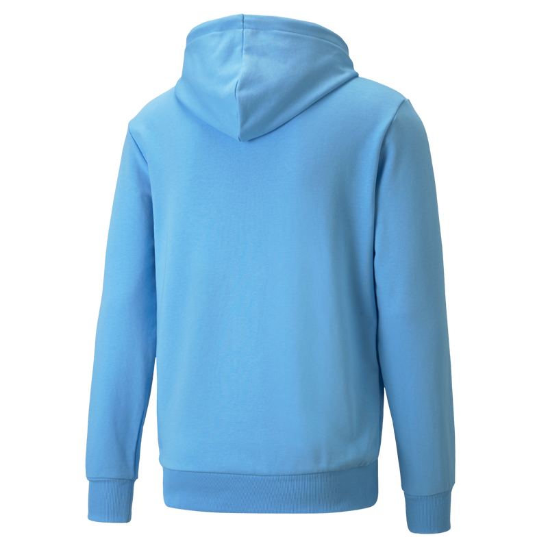 MCFC LW MENS FTBL CORE HOODED SWEAT - light blue