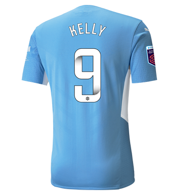 Manchester City Authentic Home Shirt 21/22 with Chloe Kelly printing