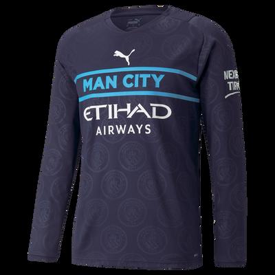 Manchester City 3rd Shirt Long Sleeve 21/22