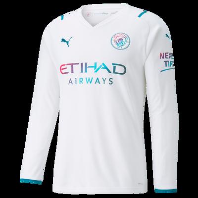 Manchester City Away Long Sleeve Shirt 21/22