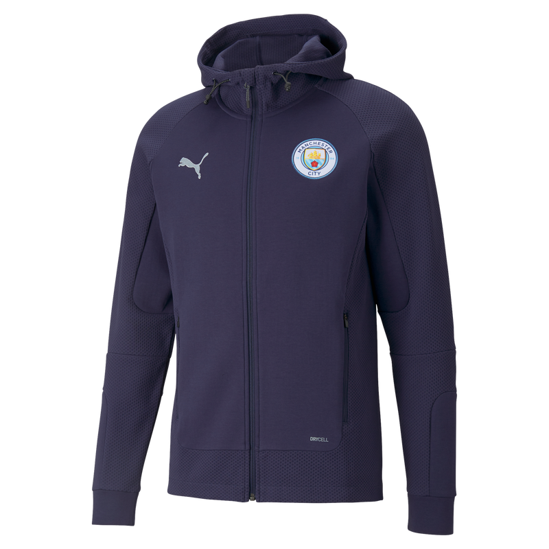 Manchester City Casuals Hooded Jacket