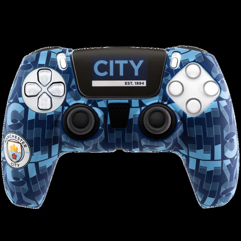 MCFC FW PS5 CONTROLLER SKIN - light blue
