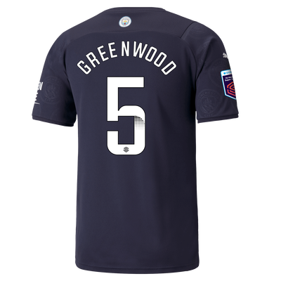 Manchester City 3rd Shirt 21/22 with Alex Greenwood printing