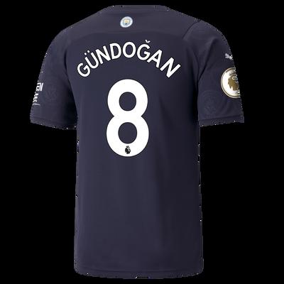 Manchester City 3rd Shirt 21/22 with İlkay Gündoğan printing