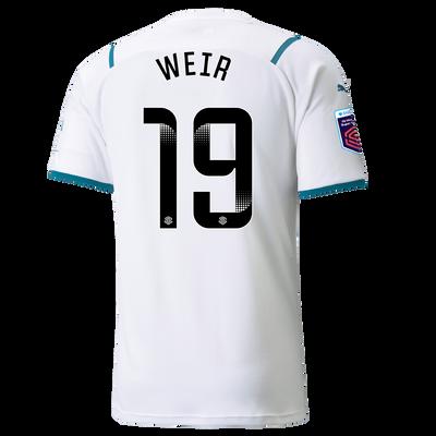 Manchester City Away Shirt 21/22 with Caroline Weir printing