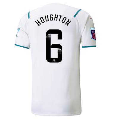 Manchester City Authentic Away Shirt 21/22 with Steph Houghton printing