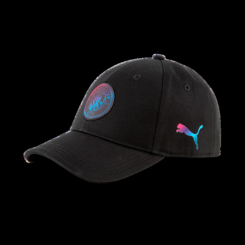 MCFC LW TEAM CAP - black