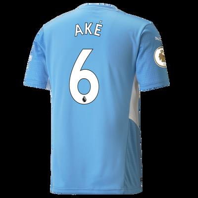 Manchester City Home Shirt 21/22 with Nathan Aké printing