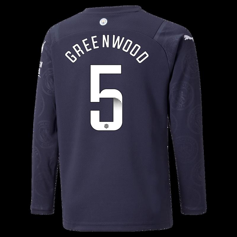 MCFC MW KIDS 3RD SL SHIRT LS-GREENWOOD-WSL-WSL-TRUE -