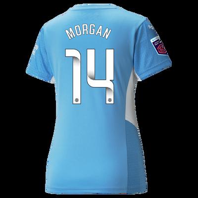 Womens Manchester City Home Shirt 21/22 with Esme Morgan printing