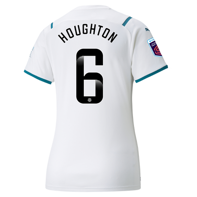 Womens Manchester City Away Shirt 21/22 with Steph Houghton printing