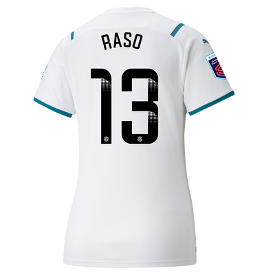 [Pre-order] Womens Manchester City Away Shirt 21/22 with Hayley Raso printing