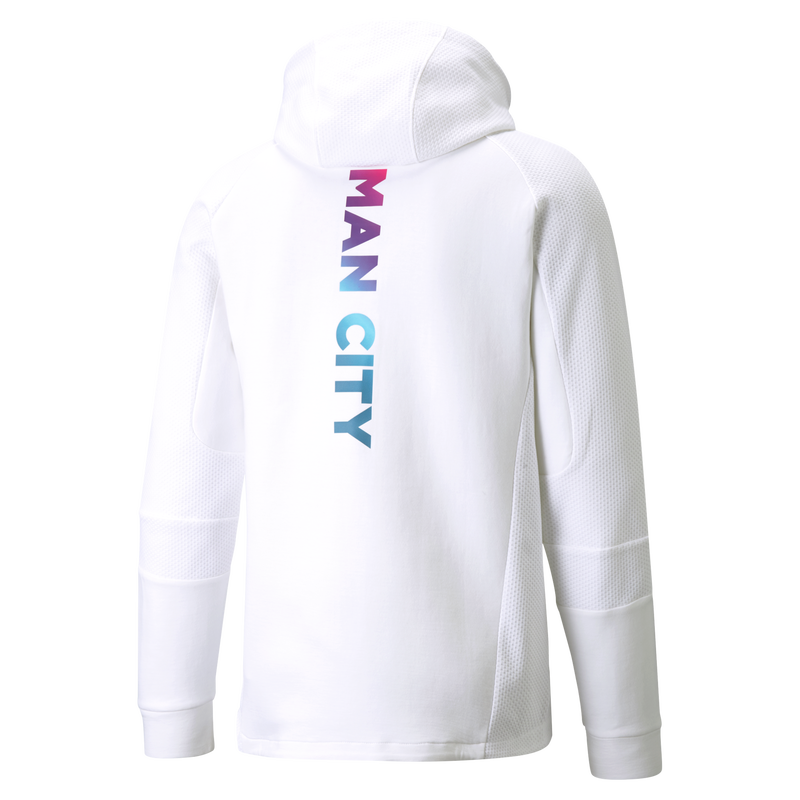 MCFC LW MENS CASUALS HOODED JACKET - white