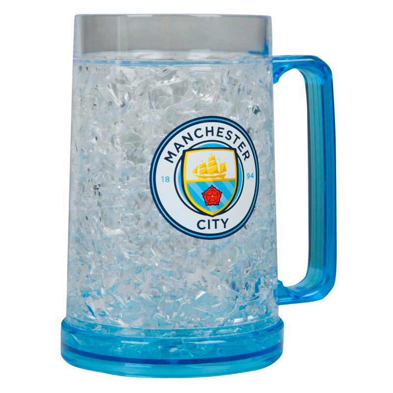 MCFC FW FREEZER TANKARD F - light blue